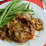 Caramel Apple Pork Chop Recipe