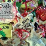 Crafty Cookies; Salt Dough Ornaments that are only 3 ingredients!