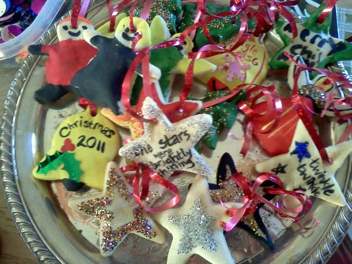 Crafty Cookies Salt Dough Ornament Recipe