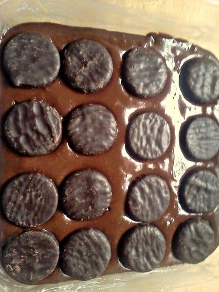 York Peppermint Brownies