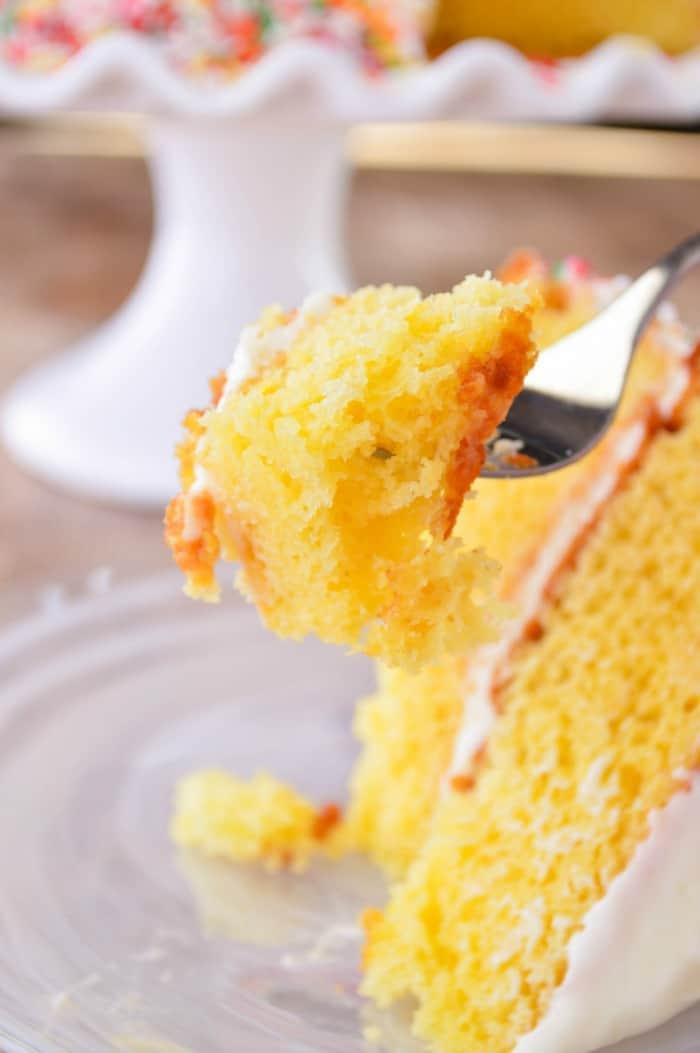 A bite of Citrus Cake