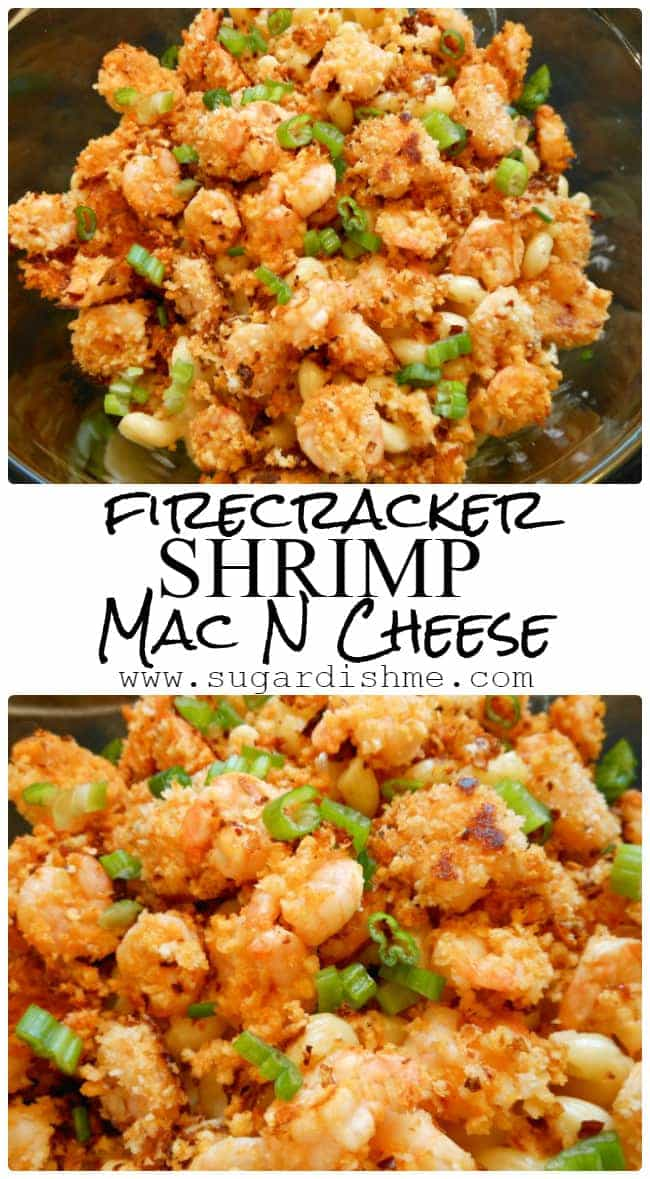 Firecracker Shrimp Macaroni and Cheese