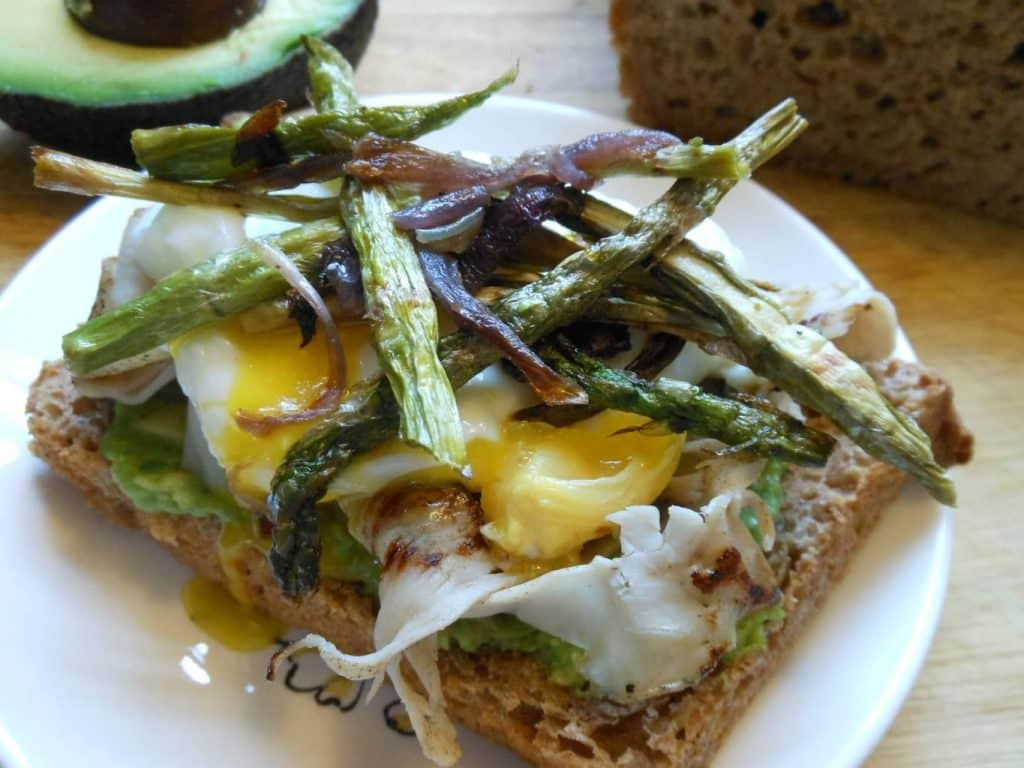 Spring Asparagus Toast
