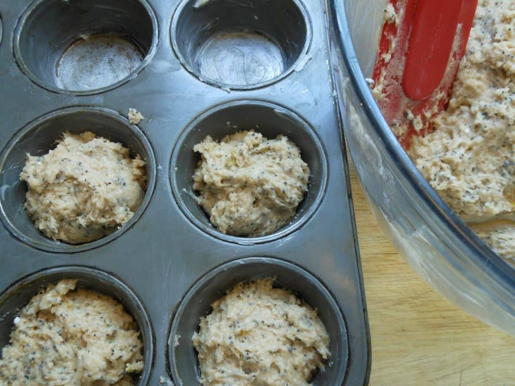 buttery lemon muffin recipe
