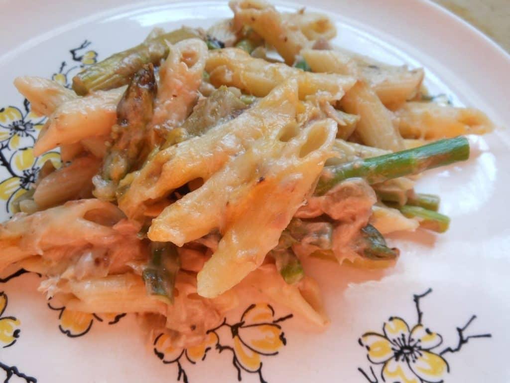 Tuna Noodle and Asparagus Casserole
