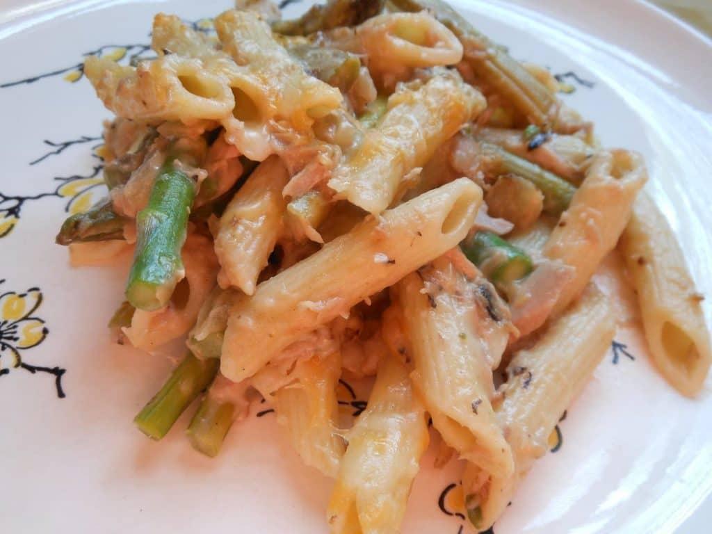 Tuna Noodle Asparagus Casserole