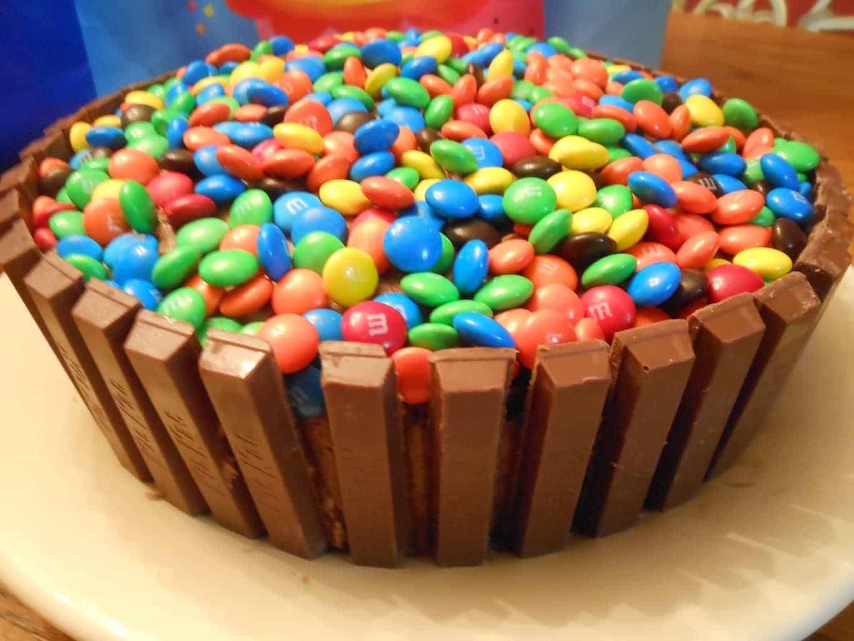 Kit Kat Birthday Cake Recipe