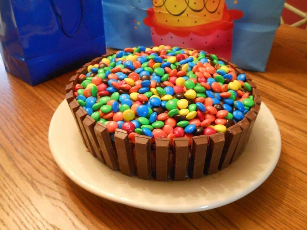 Popping Candy Birthday Cake