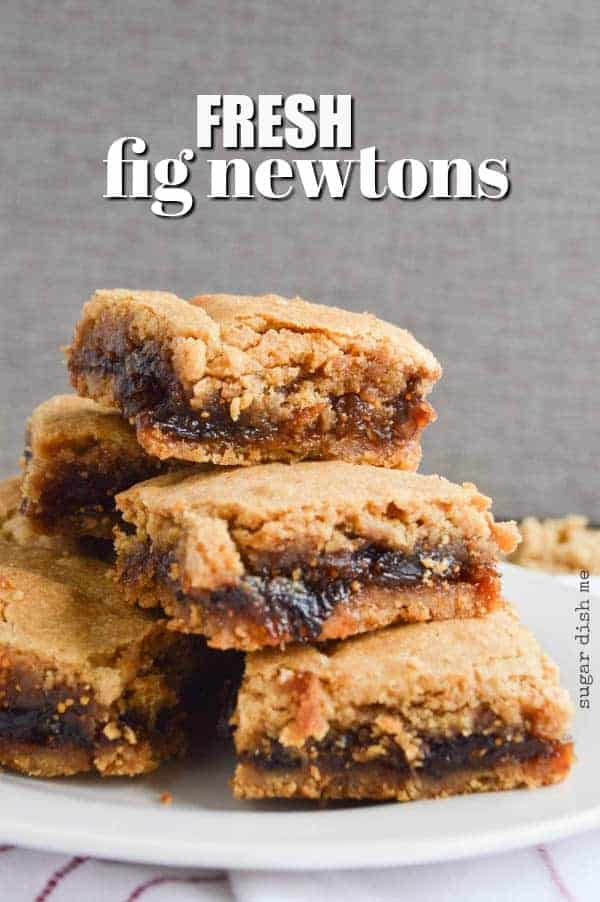 Fresh Fig Newtons Recipe
