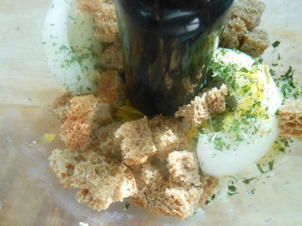 Asparagus + Walnut Pesto