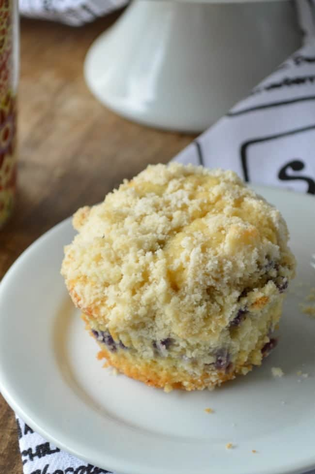 From Scratch Blueberry Muffins