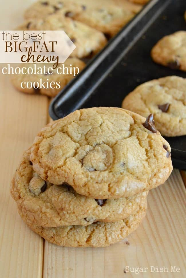 The Best Big Fat Chocolate Chip Cookies