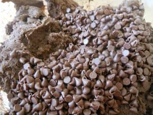 itty bitty semi-sweet chocolate chips