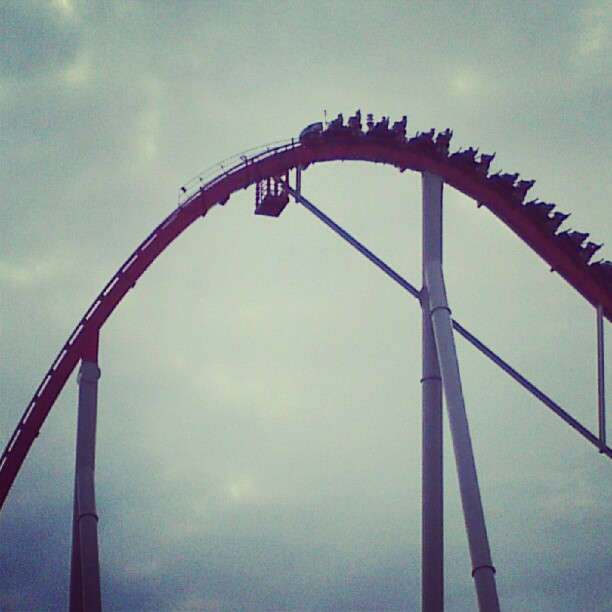 The Intimidator at Carowinds