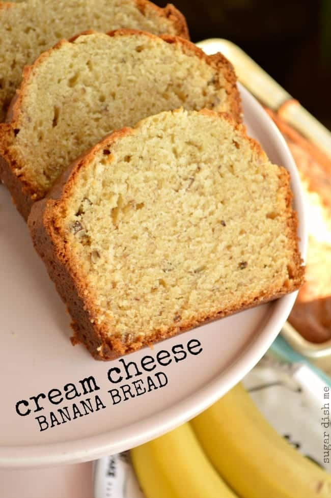 Cream Cheese Banana Bread Recipe