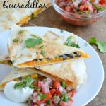 Sweet Potato and Black Bean Quesadillas