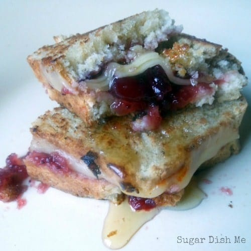 Cranberry Honey Grilled Cheese