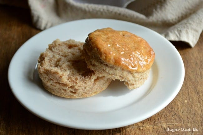 Honey Butter Whole Wheat Biscuit Recipe