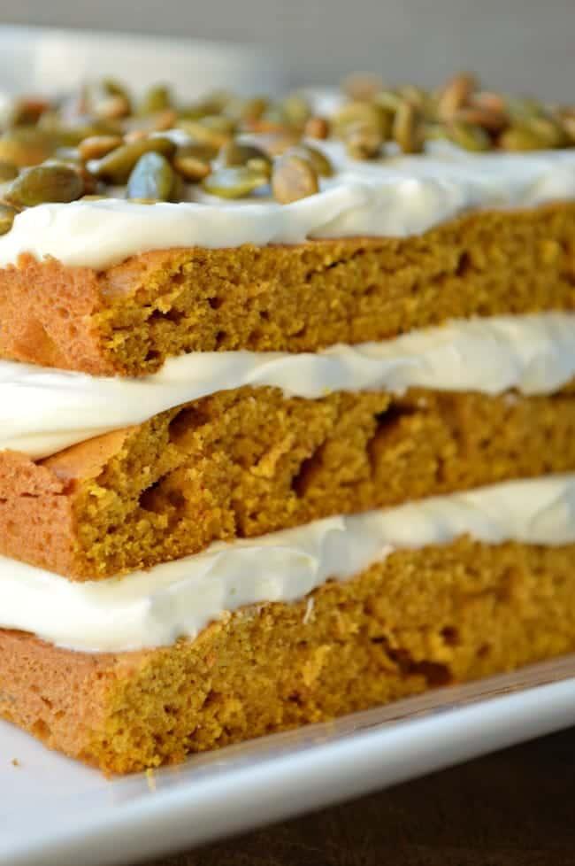 Pumpkin Torte Cake Recipe