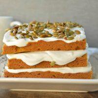 Easy Pumpkin Layer Cake