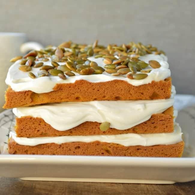 Pumpkin Torte Cake