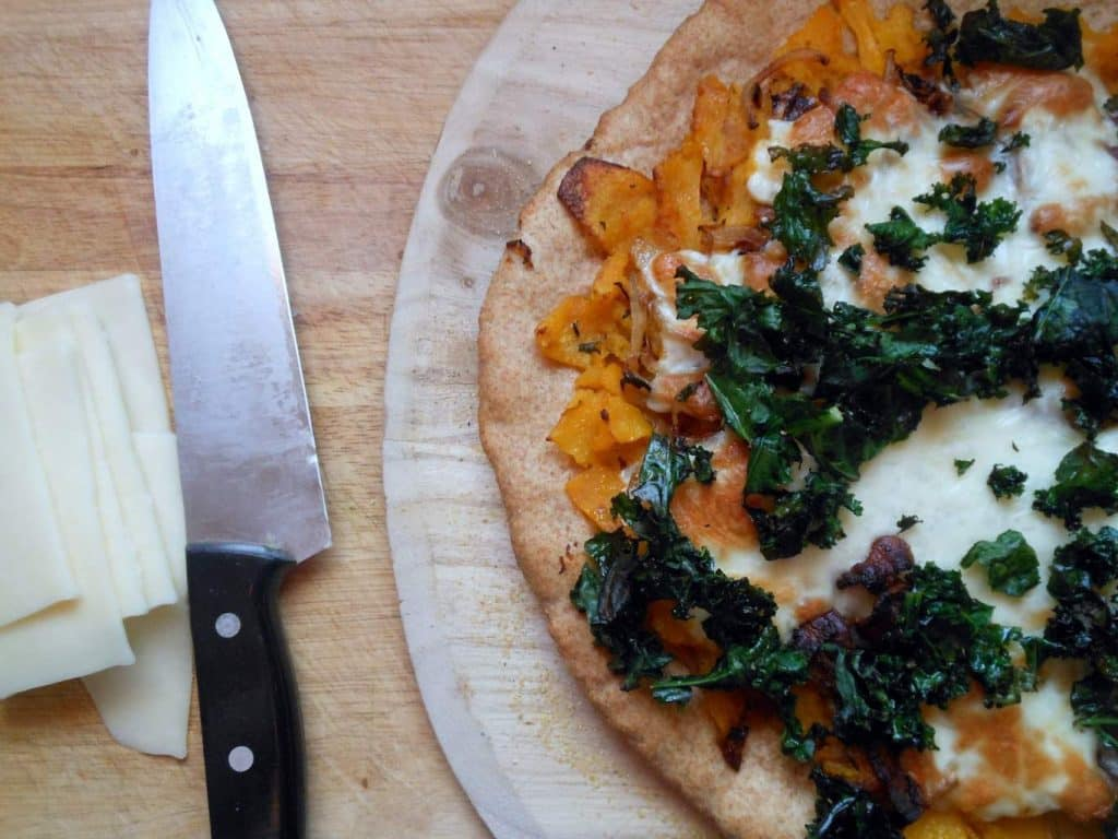 winter veggie pizza