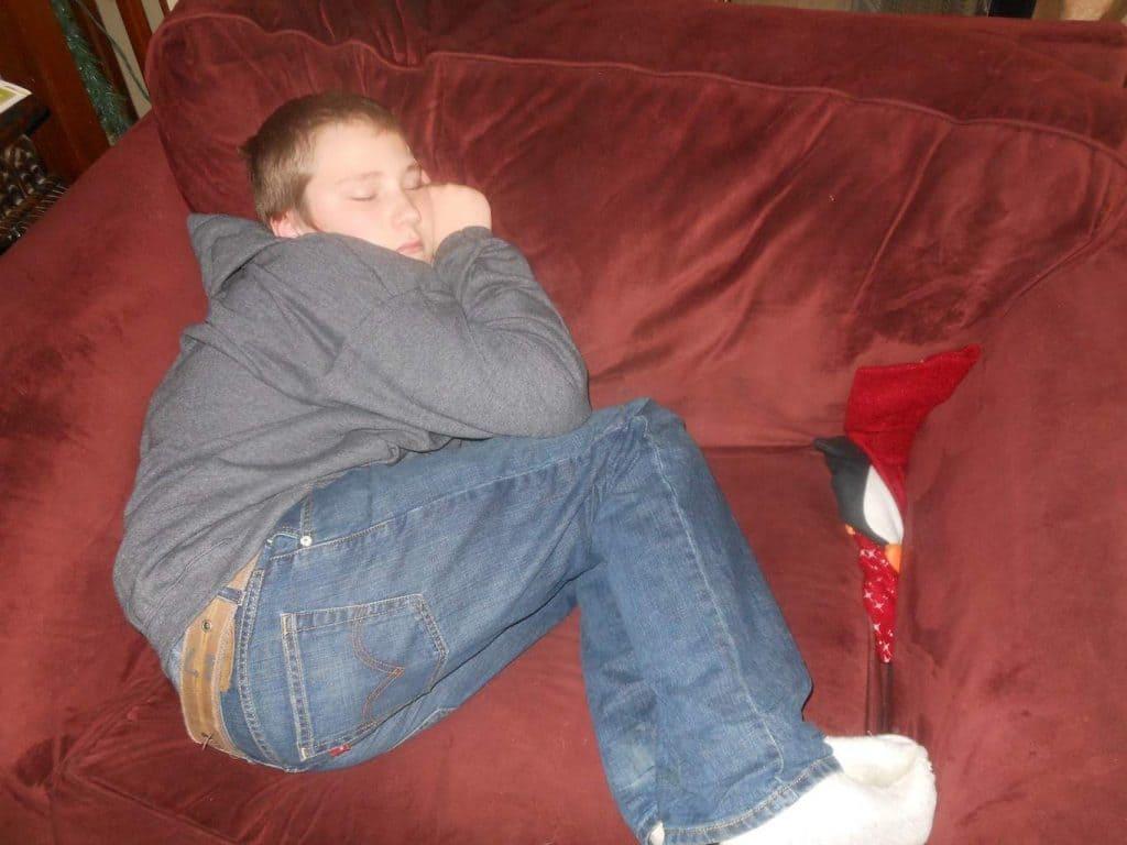 Christmas exhaustion