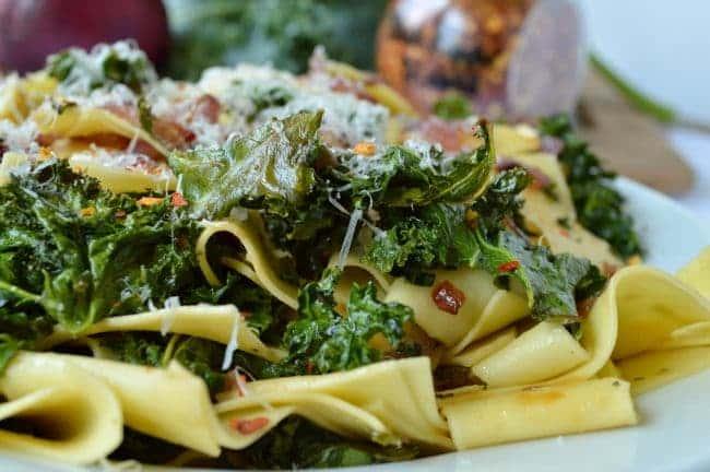 Easy Kale Pasta Recipe