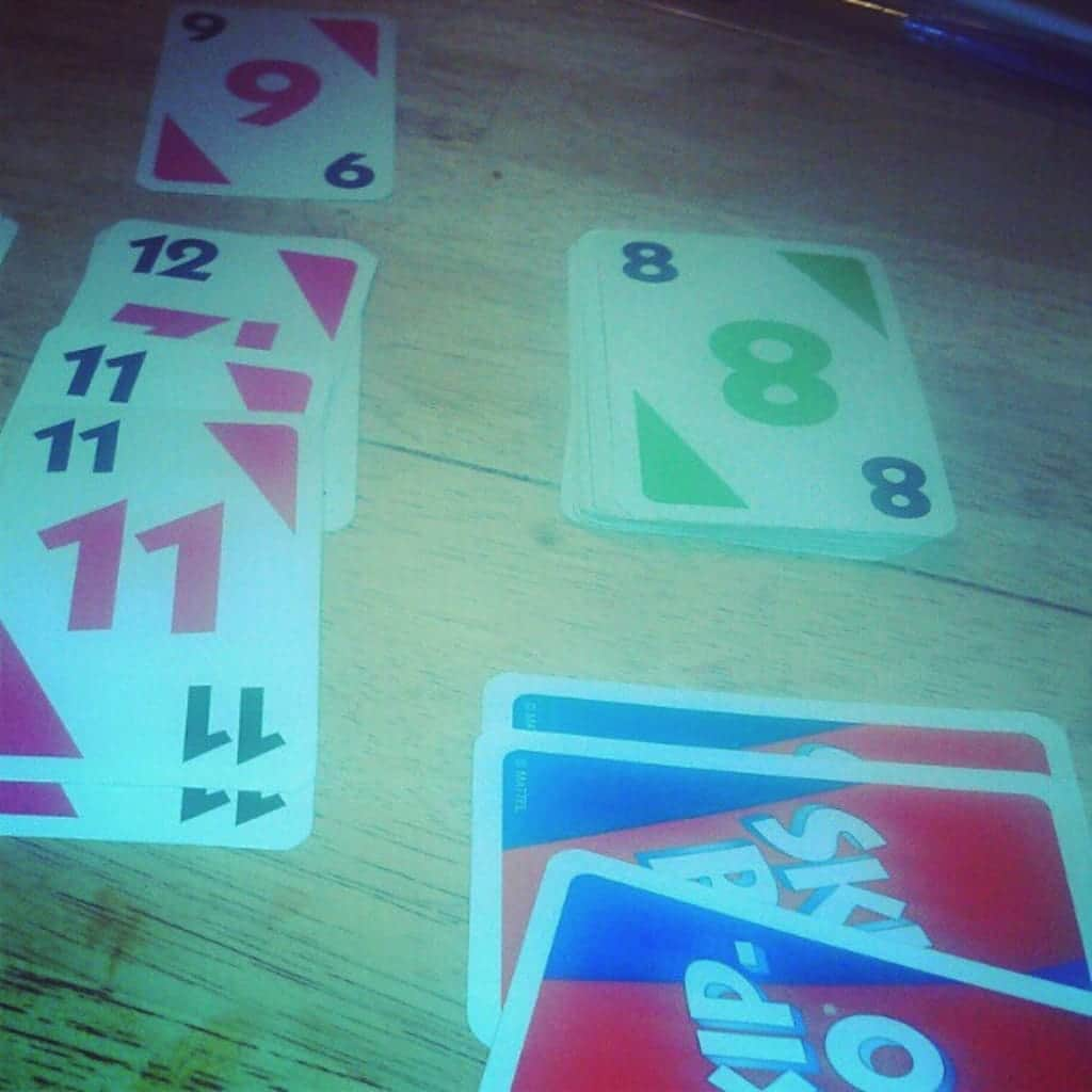 playing Skip-Bo