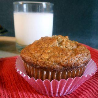 banana oatmeal muffin recipe