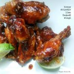 Honey Chipotle Lime Baked Wings