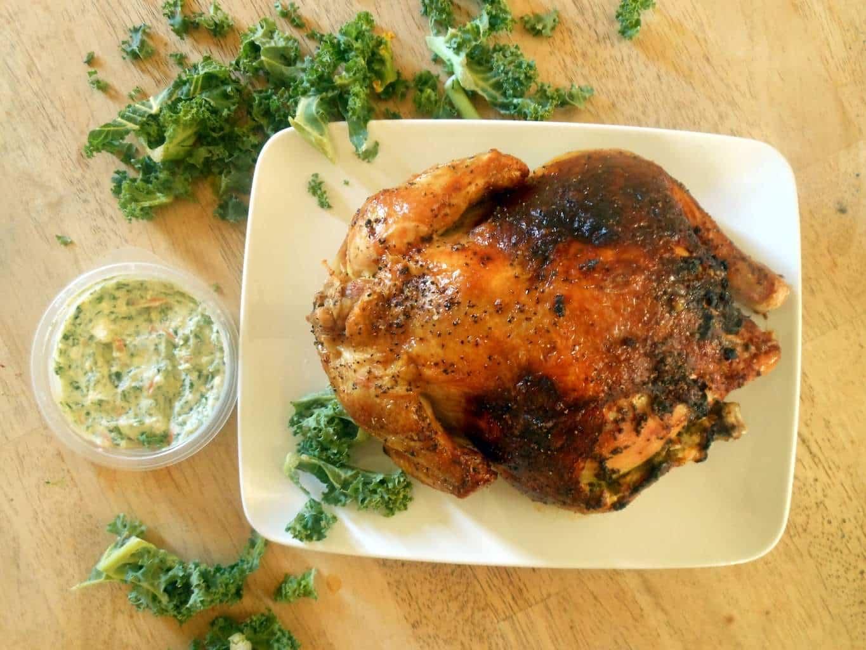Spinach Dip Stuffed Chicken - Sugar Dish Me