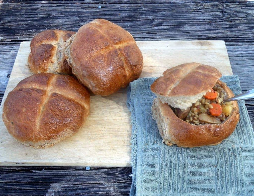 slow cooker beef beer & barley stew