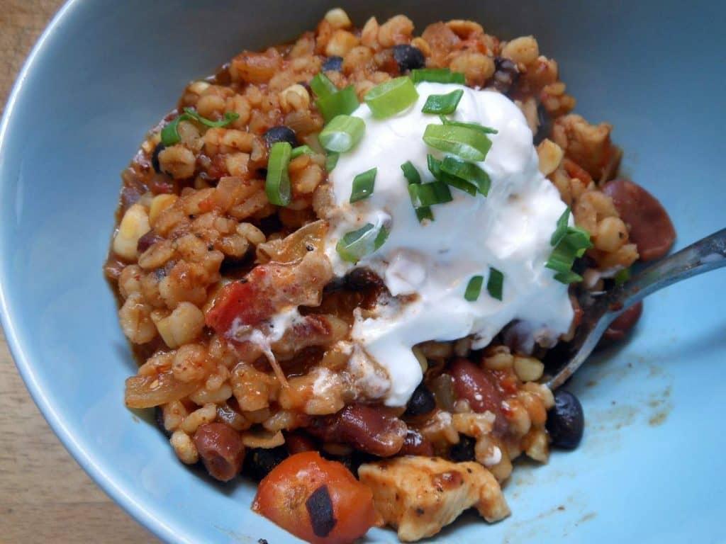 healthy chicken chili recipe