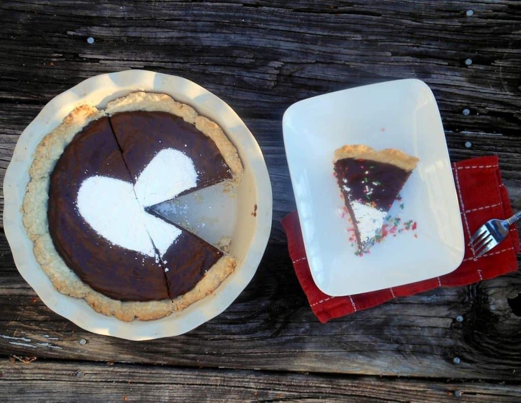 Truffle Chocolate Cream Pie