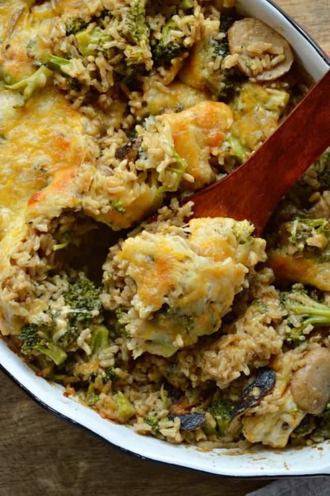 Broccoli Rice Casserole Recipe