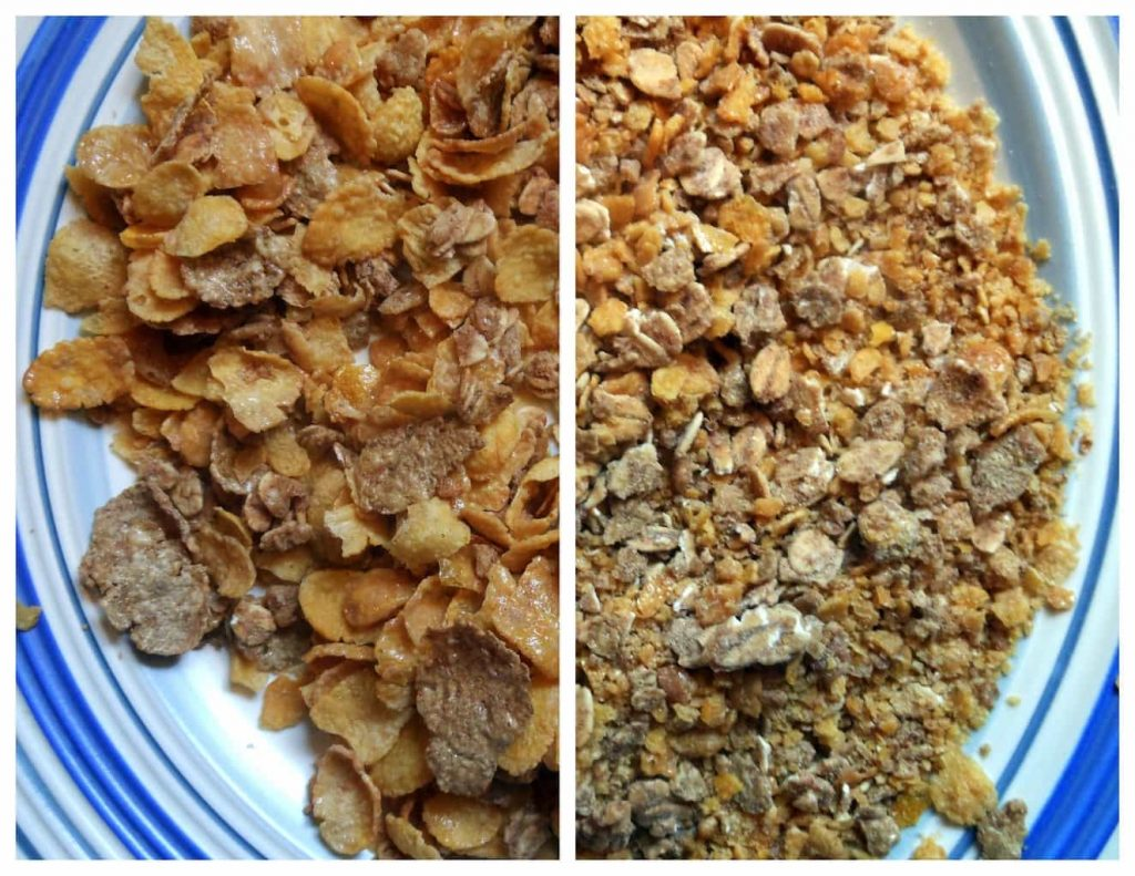 Honey Bunches of Oats Cereal for Breading Chicken