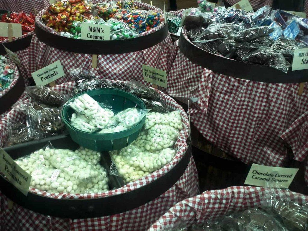 Candy Barrels, Mast General Store, Asheville