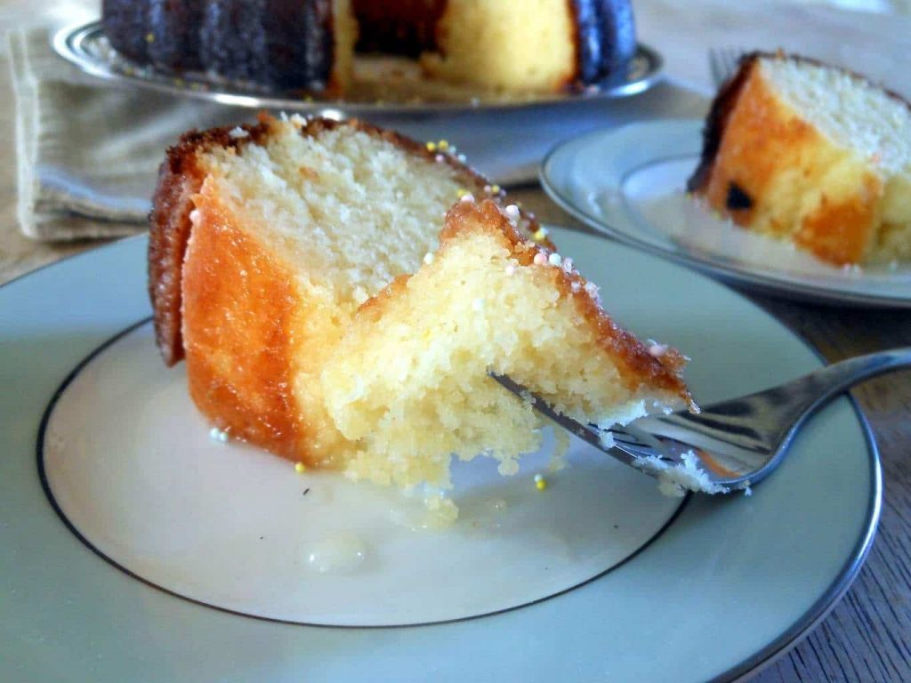 Meyer Lemon Bundt Cake - Sugar Dish Me