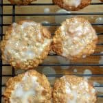 Meyer Lemon Oatmeal Cookies