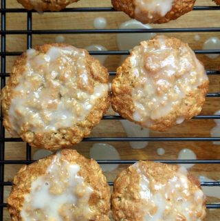 Meyer Lemon Oatmeal Cookies