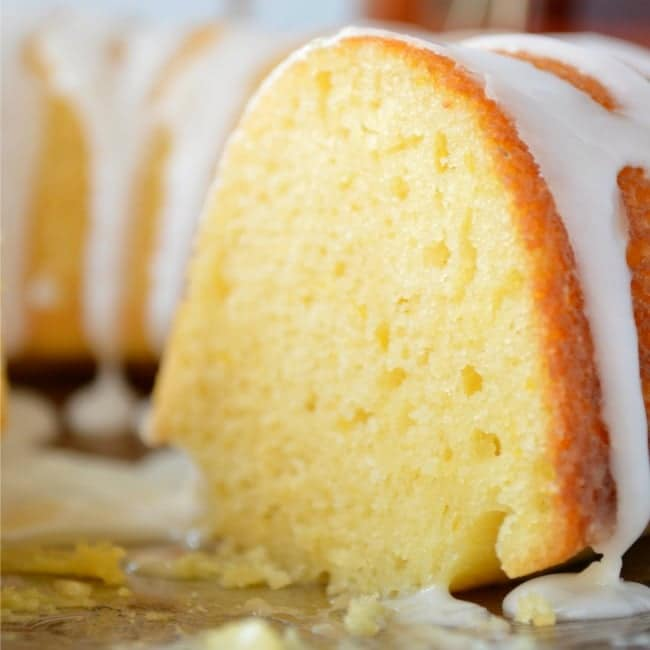 Meyer Lemon Bundt Cake recipe