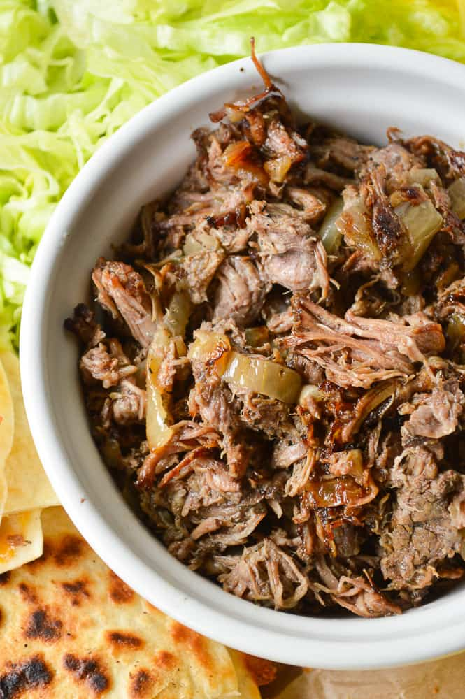 Slow Cooker Philly Beef for Sandwiches or Quesadillas