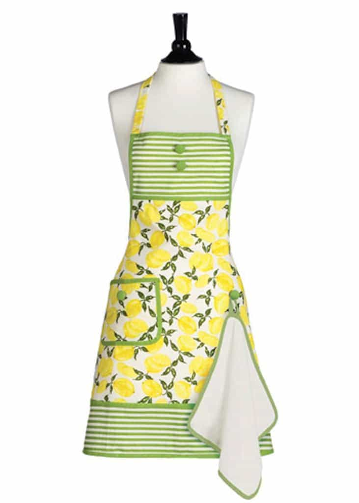 Summer Lemons Apron