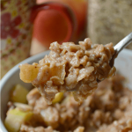 Apple Cinnamon Oatmeal From Scratch