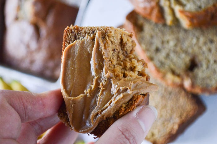 Biscoff Banana Bread Spread with Cookie Butter
