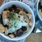 Creamy Chicken + Mushroom Fettuccini