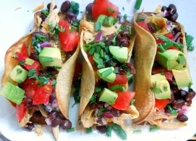 Roasted Chicken Tacos Recipe