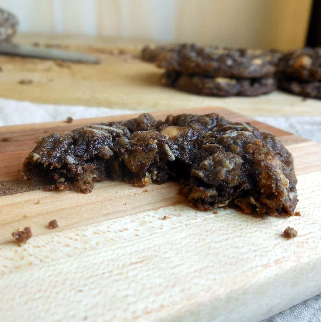 Slice-n-Bake Chocolate Peanut Butter Chip Oatmeal Cookies - Sugar ...