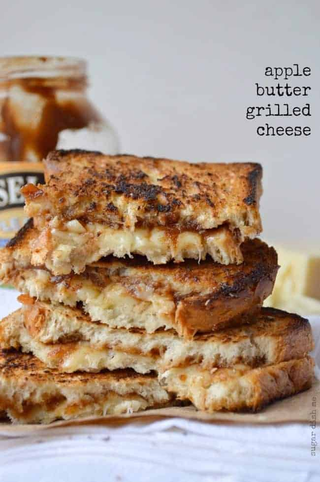Apple Butter Grilled Cheese